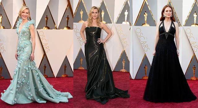 奧斯卡紅毯直擊!這些女星不裸露靠優雅氣質搶鏡!