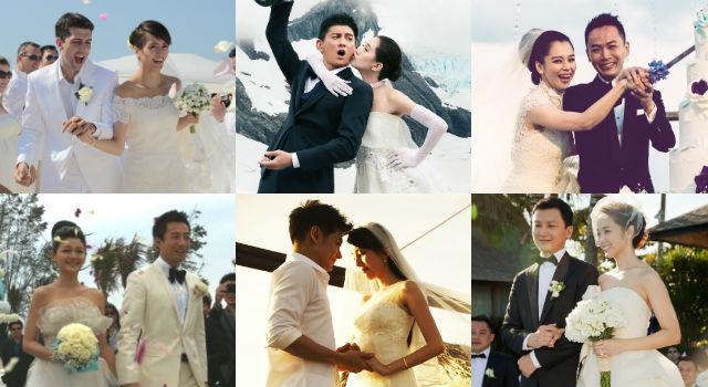 吳奇隆劉詩詩大婚期待值破表!明星海外婚禮到底都去了哪些地方?