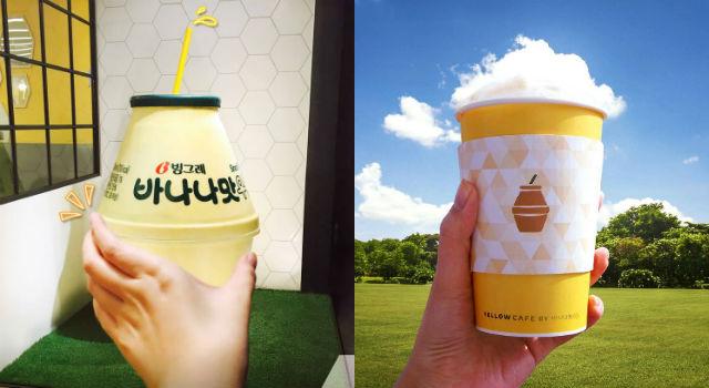 韓國必買「香蕉牛奶」太威了!首爾首間專屬咖啡廳狂吸遊客
