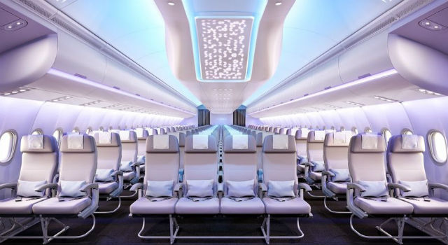 世上竟有這麼美的飛機!超粉嫩配色機艙正式起飛日就在...