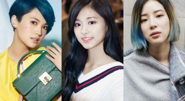 「丹寧藍」髮色很誇張?台韓女星親自示範如何染得好看不失敗