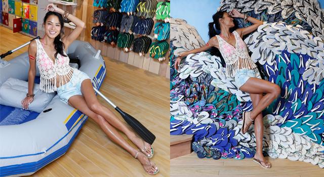 穿拖鞋腿照美!名模王麗雅:蘿蔔腿、粗腳踝做這個動作改善