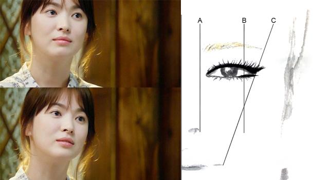 有圖解!再也不怕把韓系平眉畫成蠟筆小新了!