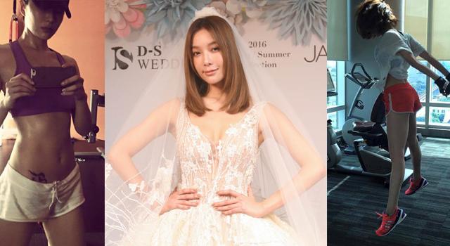 名模披嫁紗!蔡淑臻:瘦下這兩處穿婚紗就顯瘦!