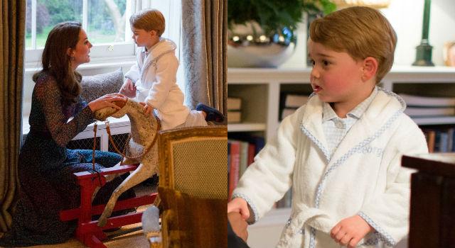 凱特王妃美衣風采被搶光?喬治小王子穿睡衣都能殺光底片!