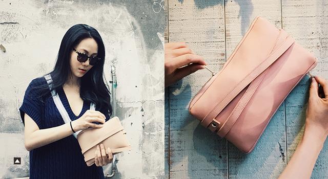 Linda Huang>>春夏風格穿搭:牛皮手包的巧妙搭襯