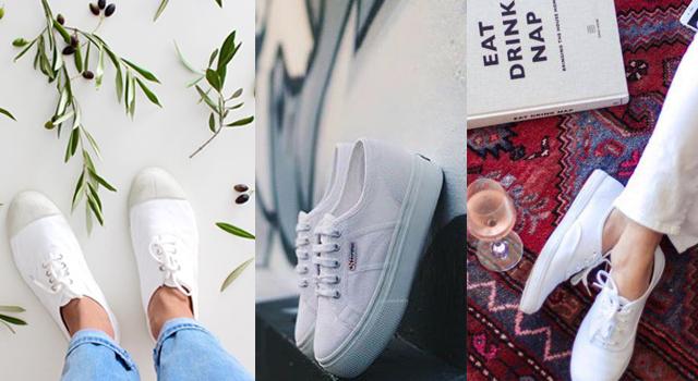 鞋櫃中有它嗎?10雙百穿不膩的經典白鞋!