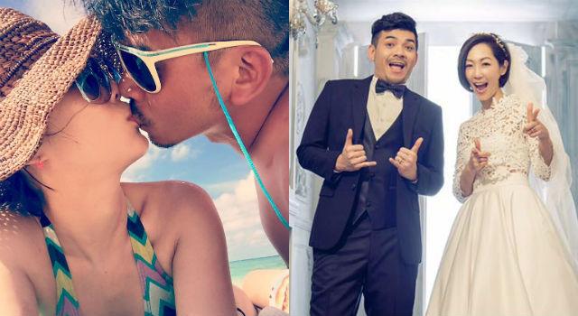 婚後照樣曬恩愛!GiGi、史丹利「夫妻泰國浴」尺度大開