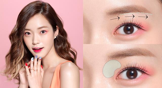 韓國彩妝師一招破解!過氣一字眉變身時髦英氣眉!