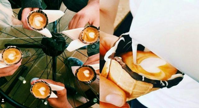 巧克力甜筒裡嚐咖啡!網友瘋傳邪惡美食新吃法