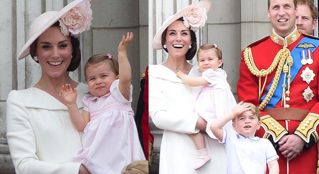 英女王90大壽風采甘願被搶光!喬治、夏綠蒂合體搶鏡太可愛啦!