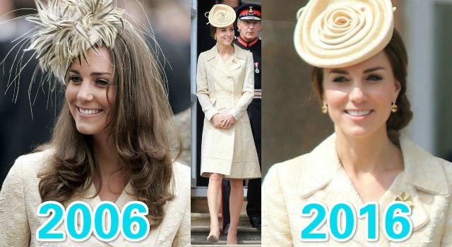 舊衣狂穿十年竟零差別?凱特王妃34歲比24歲更美簡直不科學