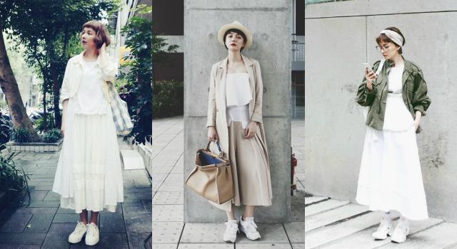 謝琦琦>>夏天穿白色就對了!讓白色造型不無聊的技巧公開啦