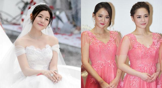 陳妍希婚禮直擊!新娘、伴娘顏值放送閃爆鎂光燈