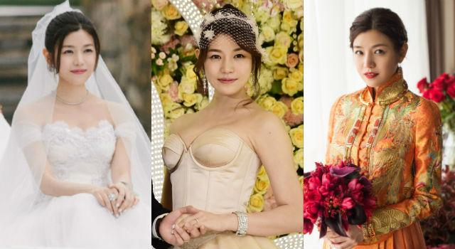 陳妍希5套婚紗總點評!最美、最雷造型分別是...