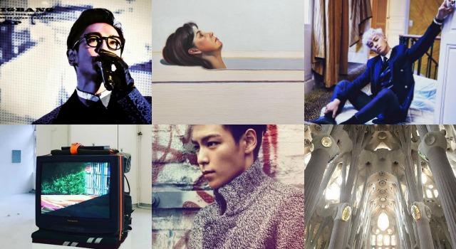 亞洲第一帥臉蛋!韓男神T.O.P的藝術好品味讓他帥出新高度啦!