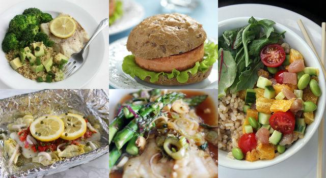 日式、地中海、美式料理全網羅!午、晚餐這樣做省時低卡沒負擔!