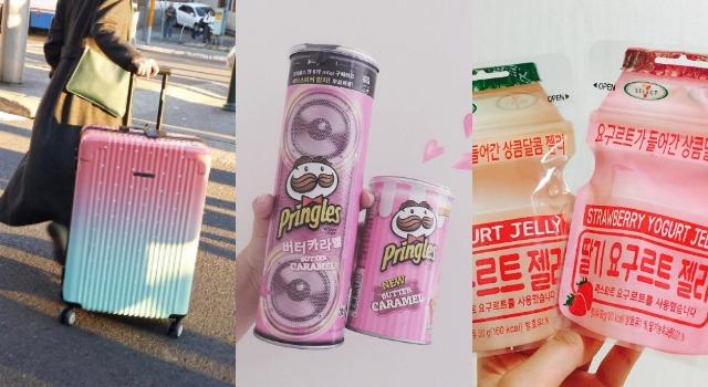 絕對療癒紓壓!夢幻行李箱、韓國最紅零嘴…全都粉嫩攻陷少女心