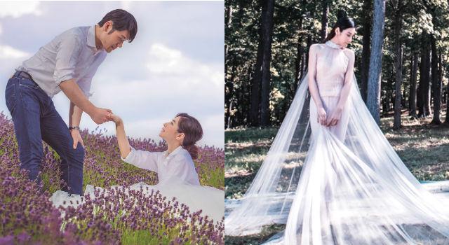 陳怡蓉親手設計婚紗大秀好品味!3大最夯白紗款式一次看