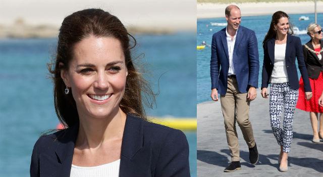 凱特王妃再創秒殺傳奇!百元上衣配平價褲款穿出皇室高貴氣質