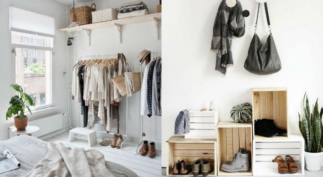 雜亂房間變身「極簡居家風」!這樣做房間瞬間變大又時尚!