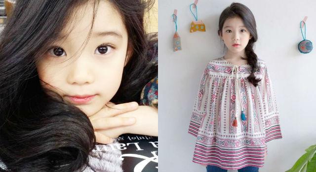 8歲比18歲還會放電!韓國最美女童這長相實在甜到不科學