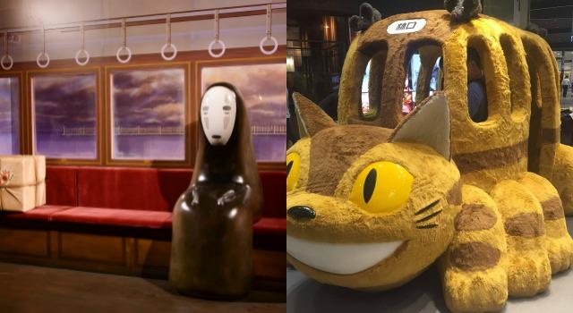 粉絲最愛吉卜力動畫場景免排隊!無臉男、貓巴士又來陪大家打卡啦