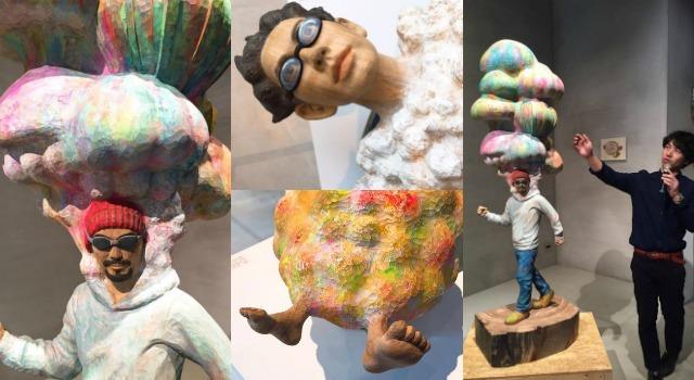 小時候幻想白雲是什麼味道?日本藝術家帶你闖進雲朵、重現童時樂趣!