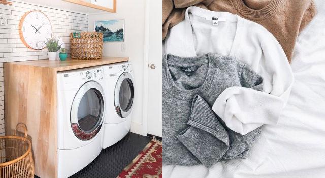 衣服不要全部塞進去!犯了使用洗衣機的錯誤方式只會越洗越髒...