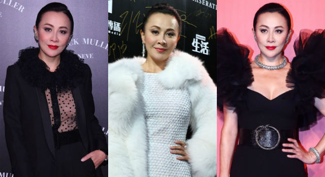 不夠霸氣的衣服姐不穿!50歲劉嘉玲要胸有胸、要腿有腿,年輕嫩妹根本不是對手!