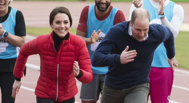 凱特王妃公益賽跑美到零死角!威廉王子難得親密互動竟為了這件事?