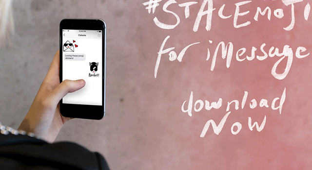 星巴克粉注意!紐約時尚Alice + Olivia推動態貼圖,台灣iPhone用戶可免費下載