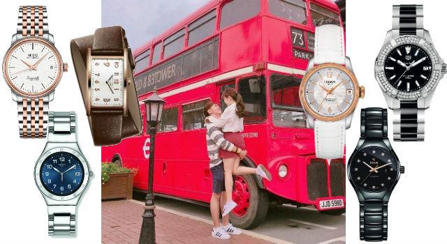白色情人節怎能沒「錶」示!牽手同時偷偷放閃才是真愛呀!