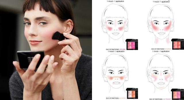 學起來各種臉型通通小一號!超實用6種好氣色腮紅畫法!