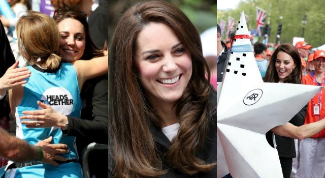 凱特王妃變身最美啦啦隊長!親密自拍、親民擁抱、調皮潑水樣樣來