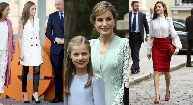 皇室女神競爭太激烈!45歲西班牙王后神級穿搭美出新境界