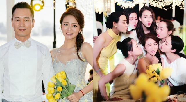 安以軒婚前露天晚宴太夢幻!「最美伴娘團」全員出動草地秒變伸展台