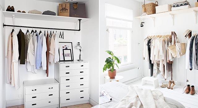 又不小心把衣櫥塞爆嗎?5個實用收納技巧學會就可以盡情購物!