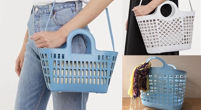 這不是家裡的那個「洗衣籃」?現在竟成了日本雜誌都推薦的時尚配件!