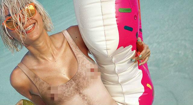 走光露毛秒變小CASE?史上尺度最大「裸體泳裝」超級辣眼睛!