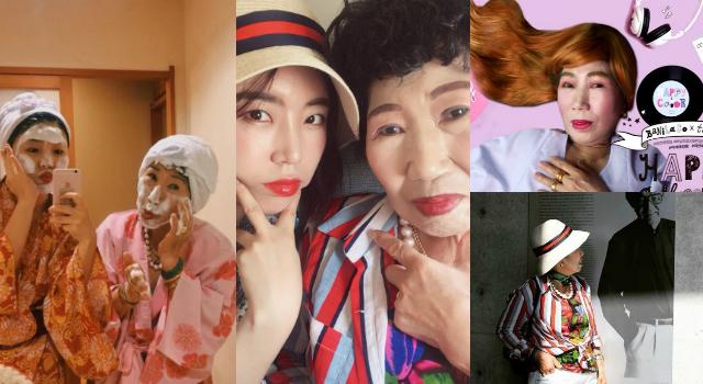爆紅70歲youtuber韓國阿嬤超可愛,愛漂亮瘋化妝想跟「太妍」一樣美!