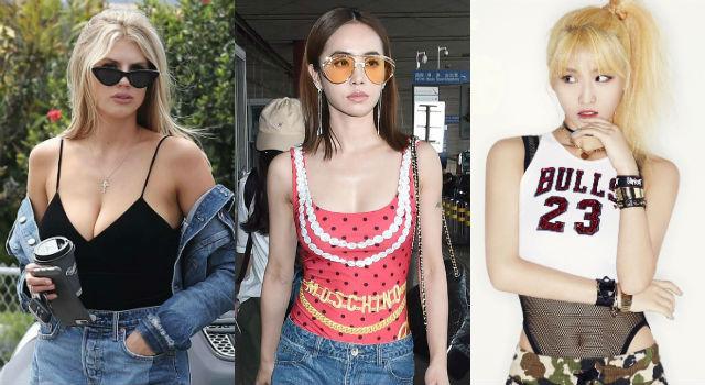 蔡依林「泳衣外穿」不稀奇!韓國女星、火辣超模上街也都這樣穿!