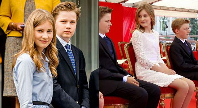 比利時王室基因太夢幻!15歲小公主清純氣質、筆直美腿成焦點