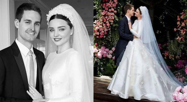 米蘭達可兒嫁千億富豪婚紗美照曝光!Dior操刀皇室風格夢幻到極致