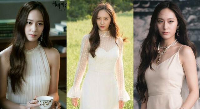 最美韓劇女二就是她!「河伯的新娘」Krystal高冷變裝女神氣場全開