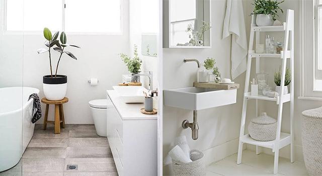 浴室永遠被雜物淹沒?5個實用小技巧讓浴室空間瞬間變大又明亮!