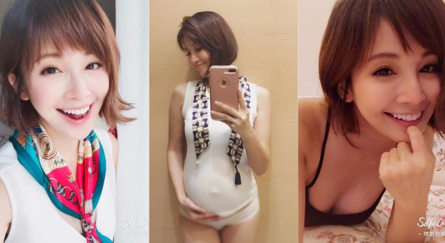 第二胎懷孕7個月只胖5公斤!超美孕妻鍾欣怡靠「這招」一條妊娠紋都沒有!