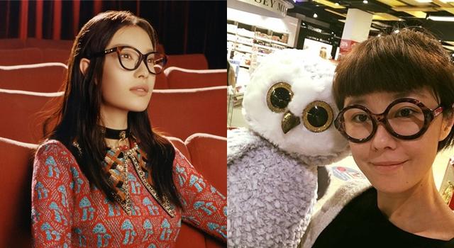 正式換季,墨鏡OUT!學大牌明星戴光學眼鏡才叫時髦