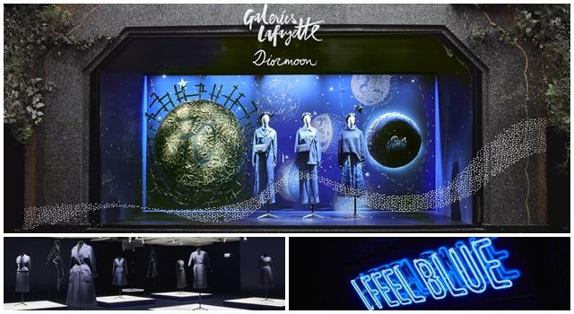 趕快告訴在法國的朋友!拉法葉百貨的 Dior 夜藍星空也太美