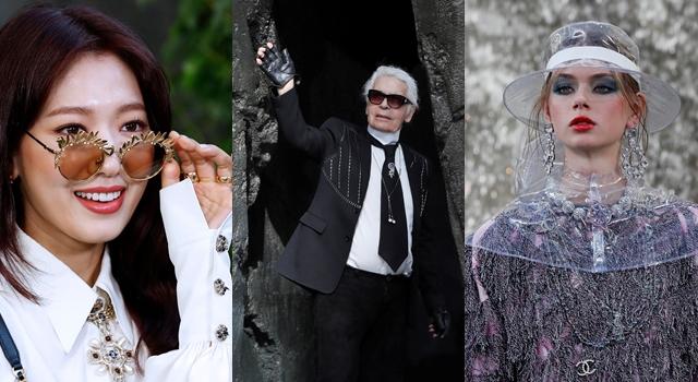 連朴信惠也讚嘆!老佛爺把瀑布搬進巴黎大皇宮,香奈兒大秀一片濕答答!